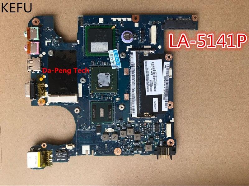 KEFU Original Laptop Motherboard For Acer EM250 D250 for eMachines 250 KAV60 LA 5141P motherboard 100