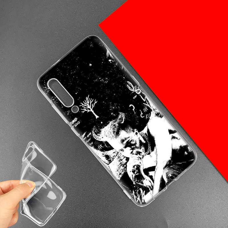 ראפ זינגר XXXTentacion מקרה עבור שיאו mi אדום mi הערה 7 7 S K20 Y3 ללכת S2 6 6A 7A 5 פרו mi 9 T A1 A2 8 לייט Poco F1 TPU Cas טלפון שקיות