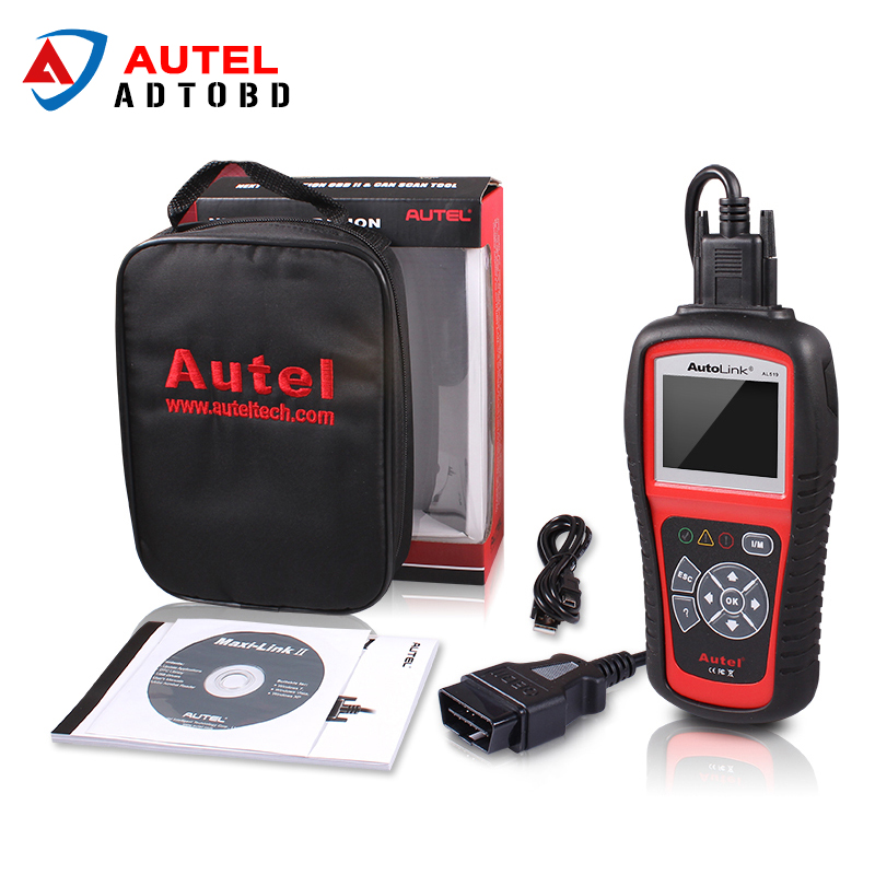100% Original Autel AutoLink AL519 Code Reader OBDII/EOBD CAN Scan Tool updated online AutoLink AL519 scanner free shipping lowest price 2017 super price maxidiag md801 code reader scanner for obd1 obdii protocol free shipping