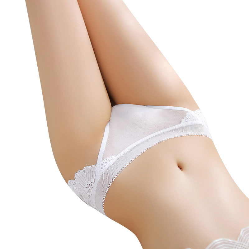 Sexy   Panties   Seamless Women Breathable Women's Briefs Female Lace Floral Underwear Ultra Thin Cotton Crotch Lady Lingerie 2019