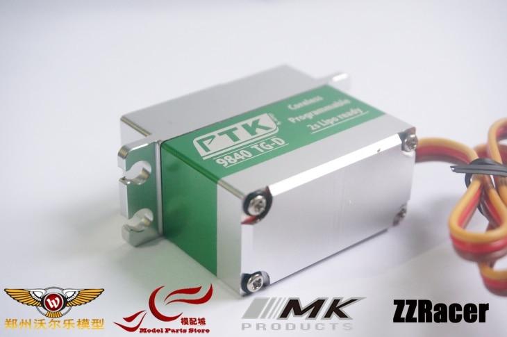 PTK 9840 8 4V High Voltage Brushless metal Servo 35Kg include the servo arm