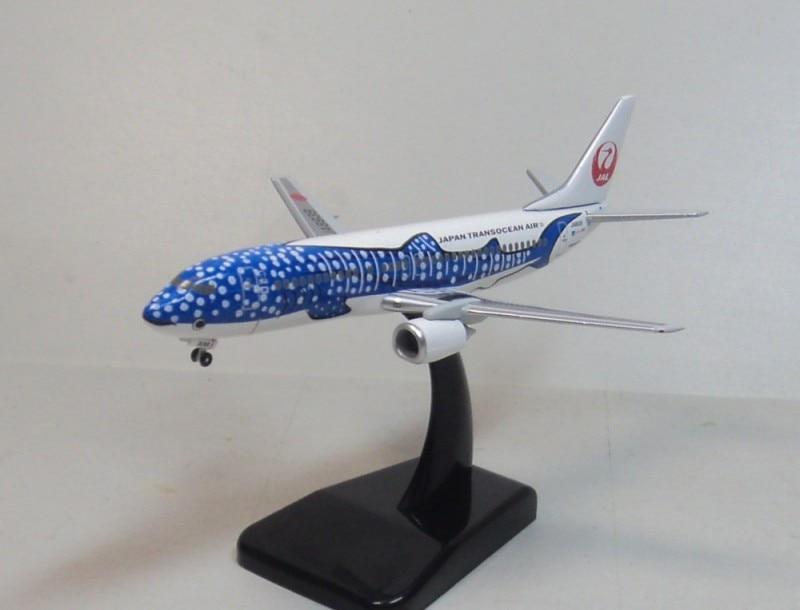 Hogan 1:400 JTA B737-400 Japan Transocean Air JA8939 aircraft model