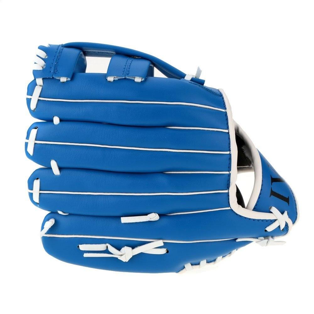 Sporthandschuhe Sinnvoll Neue Verkauf 10,5 /11,5/12,5 weiche Ball Baseball Handschuh Outdoor Team Sport Links Hand Blau Verschiedene Stile Sport Zubehör