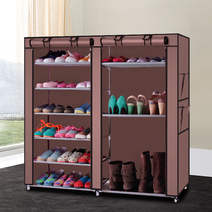 Double Row OF 9 Cells Non-woven Fabrics Simple And Practical Dust-Shelves Multi-Functional Shoe Rack chishimba mowa and bao tran nguyen mapping cells expressing estrogen receptors