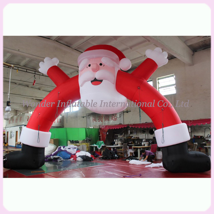 aliexpresscom buy 10m outdoor giant inflatable christmas arch for christmas events from reliable inflatable giant suppliers on wonder outdoors - Huge Inflatable Christmas Decorations