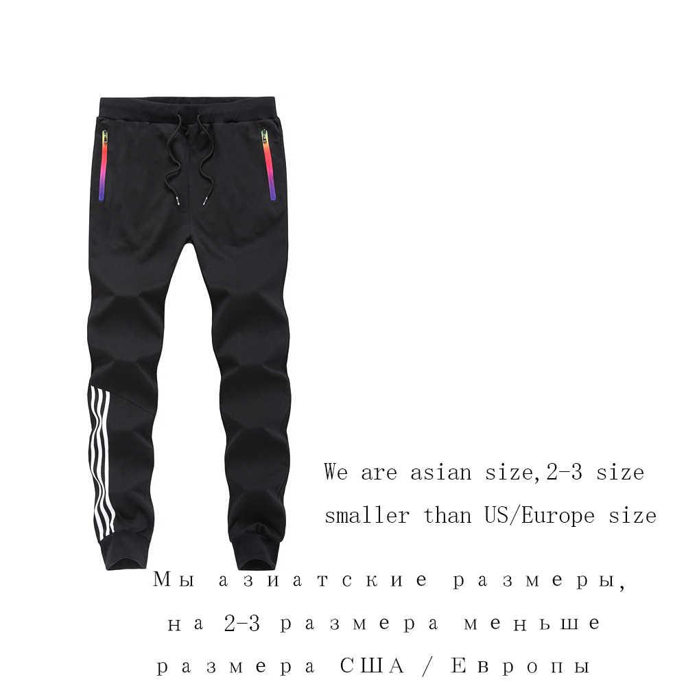 Primavera invierno Casual Pantalones Pantalón de chándal para hombre algodón ropa deportiva Casual Pantalones rectos Hip Hop High Street Nueva Marca