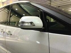 Dla Toyota Estima lusterko wsteczne ABS chrome 2 sztuk w Chromowane wykończenia od Samochody i motocykle na