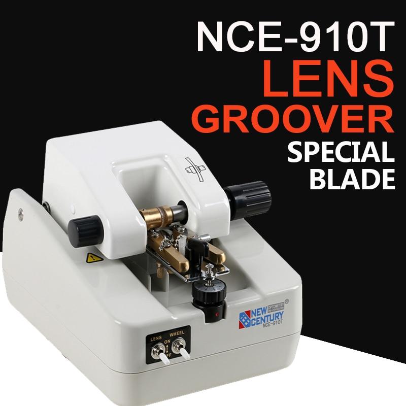 NCE-910T Optica lentille groover lentille rainurage machine équipement optique CE FDA lentille économique rainurage machine bon prix