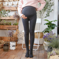 9bea68db03f Winter Women S Maternity Opaque Pantyhose Velvet Thicken Pregnant Tights  High Elastic Belly Cotton Leggings For