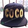 3D carta sombrero Hecho A Mano de cristal remache del casquillo de hiphop hiphop sombrero gorra de béisbol Mario pico cupo el casquillo snapbacks tapas de baloncesto