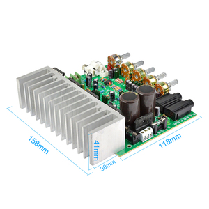 Image 4 - AIYIMA 250W+250W Audio Power Amplifier Board HIFI Stereo Amplification Digital Reverb Power Amplifier With Tone Control