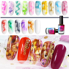 T-TIAO CLUB Blossom Gel Nail Art Polish DIY Blooming Flower Pattern Led Nails UV Lacquer Semi Permanent Hybrid Base T