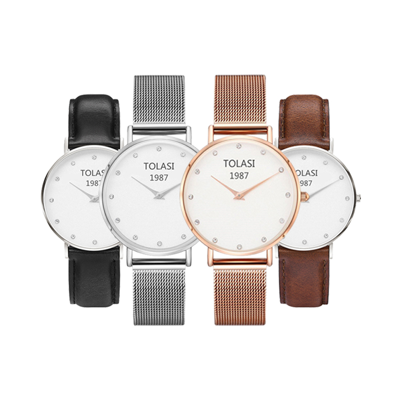 2018 Luxury Brand Ladies Steel Bracelet Quartz Watch fashion Simple Rose gold women dw watch style Bracelet Ladies Dress Watch цена