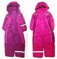 Ребенка зимой утолщение ползунки sandtroopers боди высокое качество открытый лыжный костюм