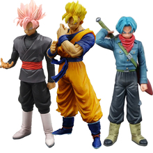 21cm Dragon Ball Figure Action Goku Gk Resin Figure Dragon Ball  PVC Model Gohan Kamehameha Games Toys For Boy Christmas Gift model fans instock 36cm duel monsters blue eyes ultimate dragon gk resin made figure toy for collection not contain kaiba seto