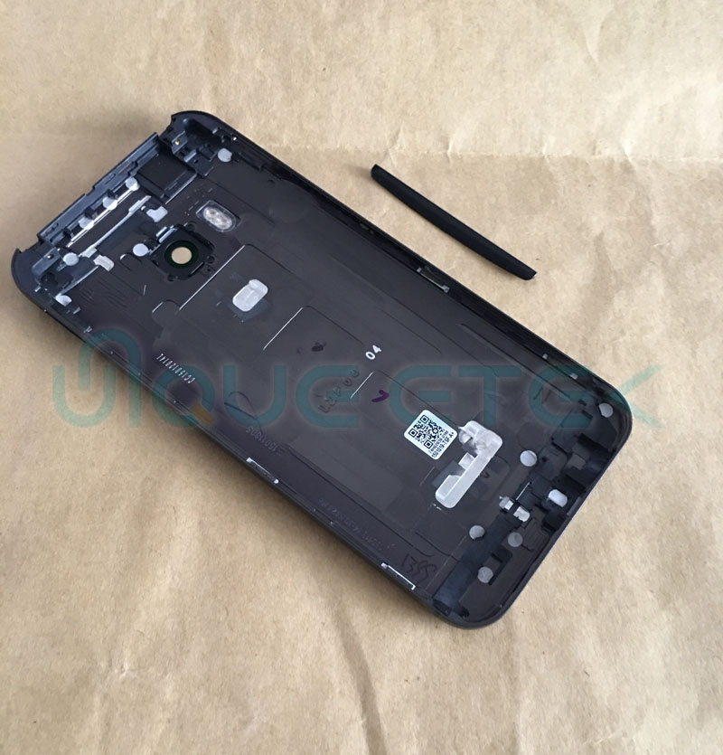 OEM New Metal Back Rear Housing Door For <font><b>HTC</b></font> <font><b>One</b></font> <font><b>M9</b></font> <font><b>Battery</b></font> Cover <font><b>Case</b></font> with Volume + Power Button + Camera Lens Assembly image