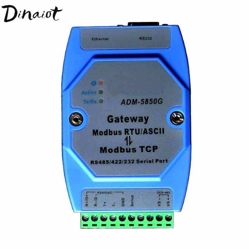 Industrial Modbus gateway server Modbus TCP to MODBUS RTU/ASCII with RS485/422/232 & Ethernet Port Modbus support Master &Slave