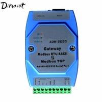 Industrial Modbus gateway server Modbus TCP to MODBUS RTU/ASCII with RS485/422/232 & Ethernet Port Modbus support Master &Slave