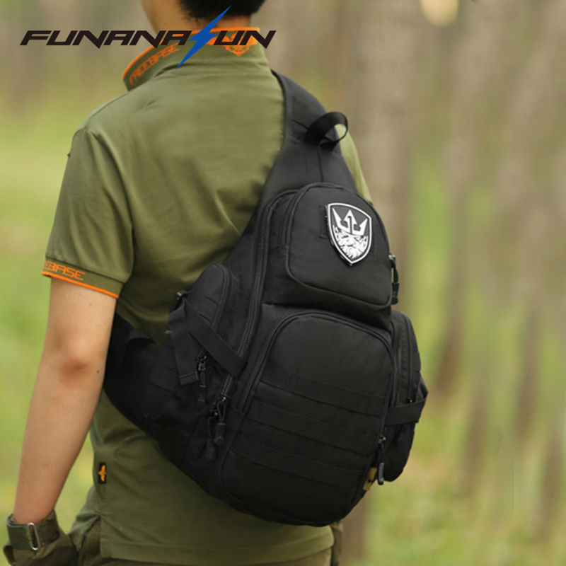 Tactical Laptop Molle Military Backpack Men Nylon Sports Bag Shoulder Sling Waterproof Men's Travel Tactical Backpack 14