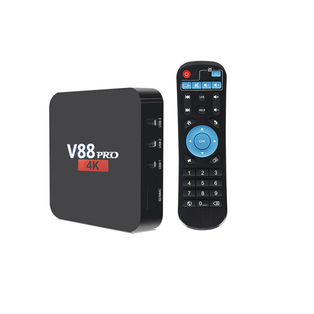 v88 pro tv box 2G RAM 16G ROM Android 8.1 TV Box