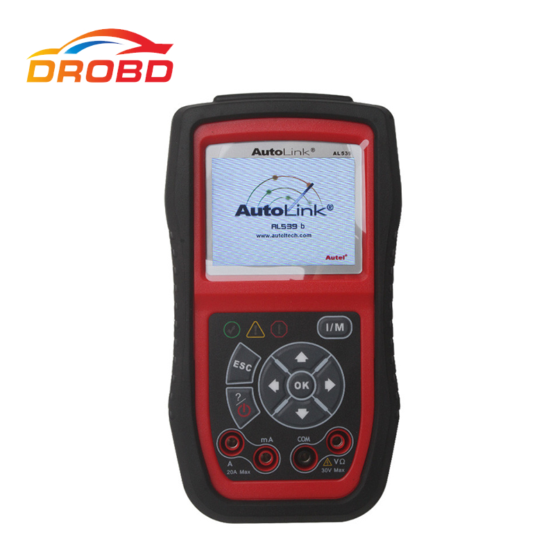 autel autolink al539b obd 2 code reader electrical test. Black Bedroom Furniture Sets. Home Design Ideas