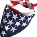 Крутая Женская повязка на голову с американским флагом и звездами США, повязка на голову, шарф