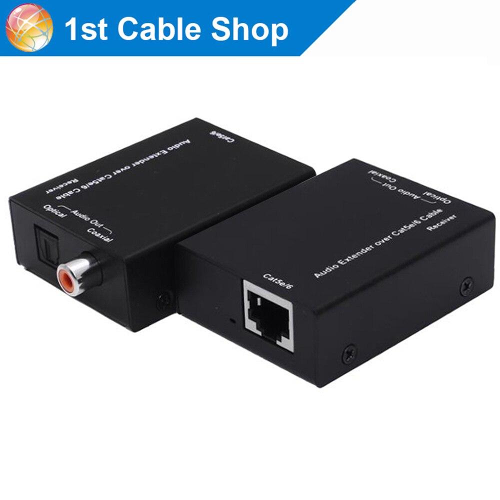 Actieve Digitale audio extender Digitale coaxiale Spdif toslink audio extender door cat6/5e tot 300 m op AliExpress - 11.11_Dubbel 11Vrijgezellendag 1