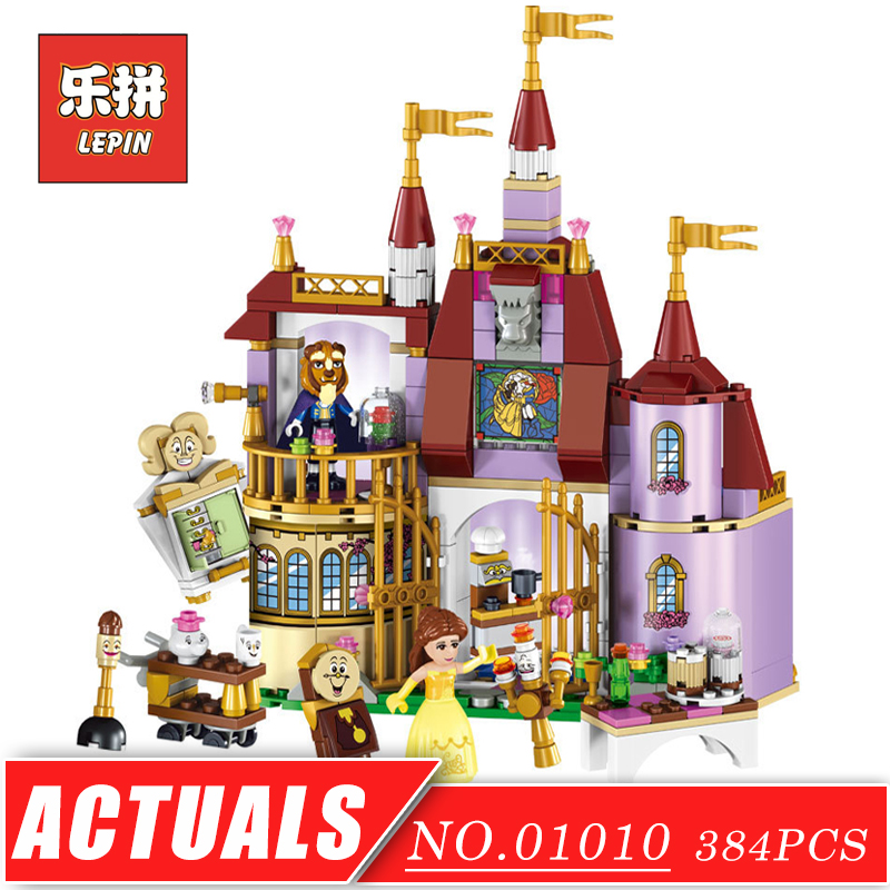 LEPIN 01010 Girl Series Princess Castle Friend House DIY Set Movie Model Building Kits Blocks Bricks Children Toy Christmas Gift lepin 01018 girl series enchanted castle princess diy set doll house model building kits blocks bricks children toys christmas