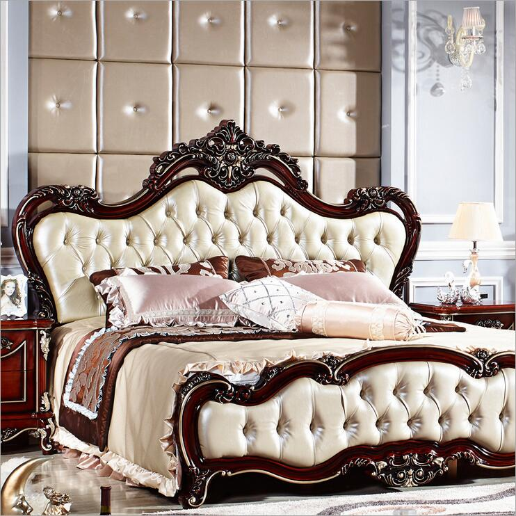 American wood bed bed European classical American country style furniture double bed 1.8 m 10314 стоимость