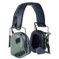 Tactical Headsets Airsoft Combat Headphone Military Shooting Headset Hunting Hearing Protective Headset use with PTT