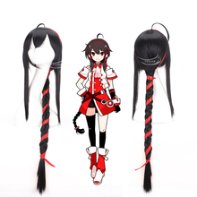Hot sale Yuezheng Ling hair jewelry 380g 100cm synthetic hair accessories for HITMAN REBORN cosplay wigs