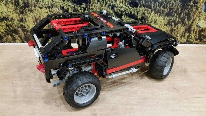 mylb Transport Cruiser SUV 589pcs Modèle De Voiture De Construction - Concepteurs et jouets de construction - Photo 2