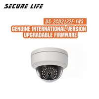 Hikvision DS 2CD2132F IWS International version 3MP wireless CCTV camera POE, mini wifi dome IP security camera H.264