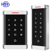 Metal Case Touch Keypad Standalone Access Control RFID Card EM ID Keytag Entry Lock Door Controller Optional IP68 Waterproof