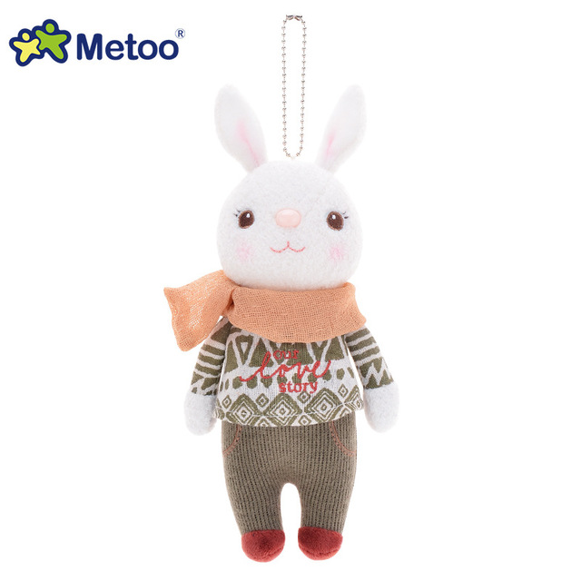 Plush Sweet Cute Lovely Stuffed Pendant Baby Kids Toys for Girls Birthday Christmas Gift 22cm Tiramitu Rabbits Mini Metoo Doll