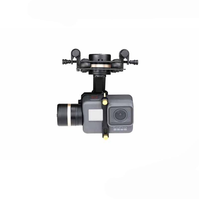 1 pc Tarot GOPRO 3D Métal Trois-axe Cardan 3 s-6 s Lipo Stabiliser Cardan PTZ pour GOPRO HERO 5 Caméra RC Quadcopter FPV Drone Modèle