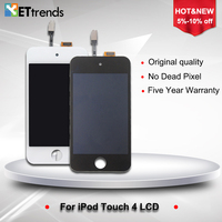 10PCS LOT Original LCD Screen For IPod Touch 4 LCD Touch Screen Digitizer Assembly In White