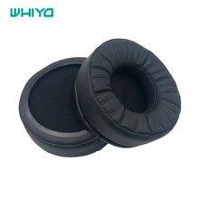 Whiyo プロテインレザーメモリフォームイヤーパッドオーディオテクニカ ATH AVC500 ATH AVC500 クッション交換パッド