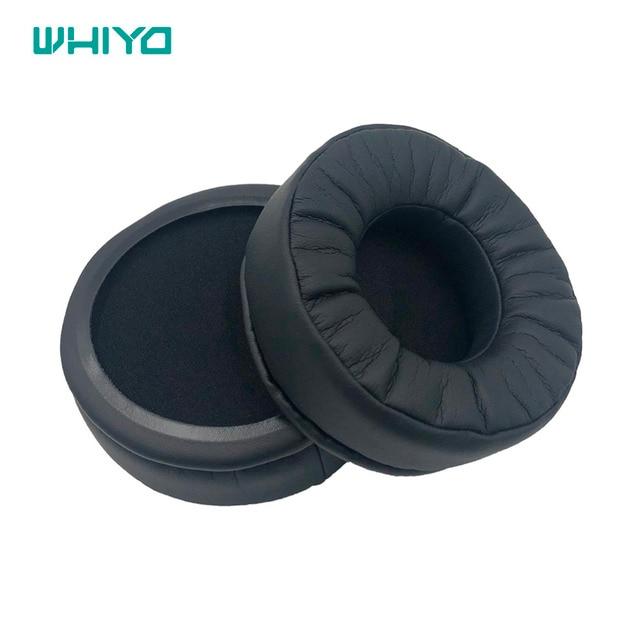 Whiyo البروتين جلدية الذاكرة رغوة الأذن ل الصوت وتكنيكا ATH AVC500 ATH AVC500 وسادة استبدال بطانة للأذن
