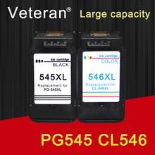 Ветеран PG545 CL546 Замена для canon чернильный картридж pg 545 cl 546 для canon pixma MG2950 MG2550 MG2500 MG3050 MG2450 MG3051 MX495