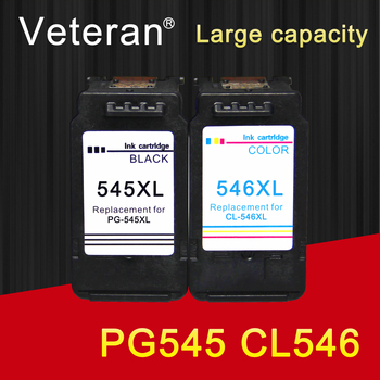 Weteran PG545 CL546 do wkładów atramentowych canon pg 545 cl 546 dla pixma MG2950 MG2550 MG2500 MG3050 MG2450 MG3051 MX495 tanie i dobre opinie Veteran Pełna 545XL 546XL Re-produkowane Wkład atramentowy Canon Inkjet Black Tri-color Bk 12ml Tri-color 12ml BK 600pcs Tri-color 450pcs (at A4 Format 5 Coverage )