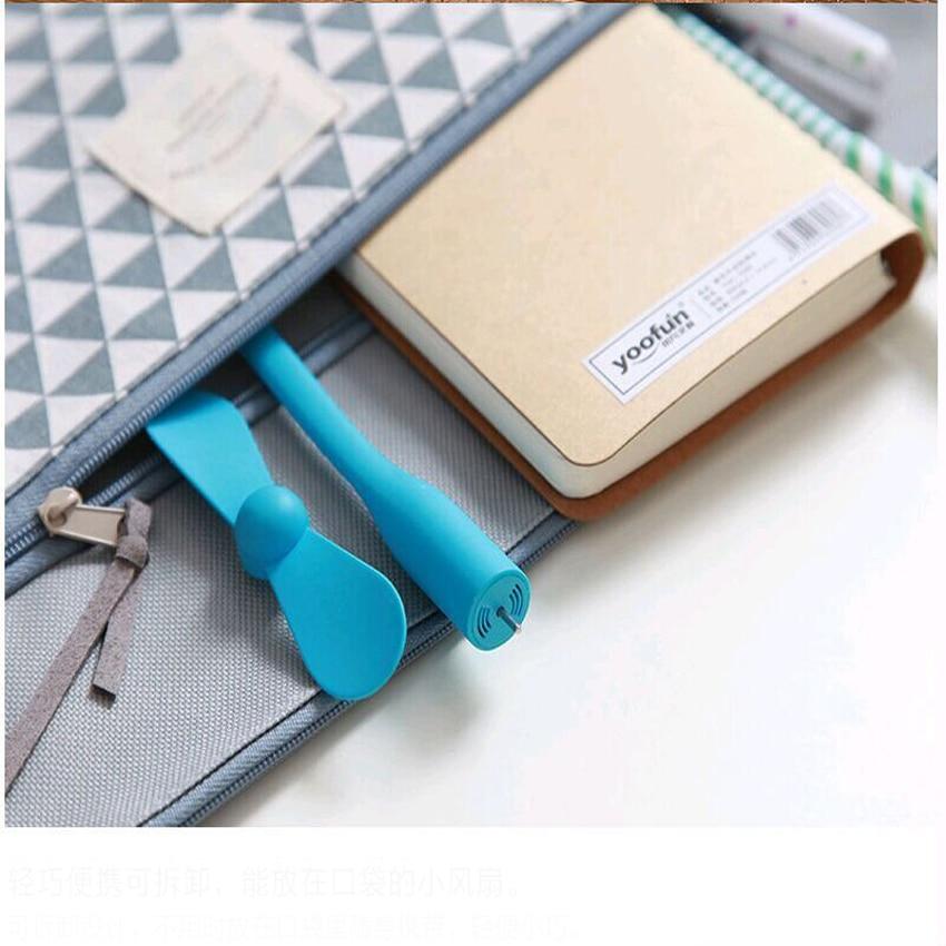 Portable Flexible USB Cooler Mini Cooling Fan Cute Colorful Cooler For Laptop Desktop Computer Free Shipping 16