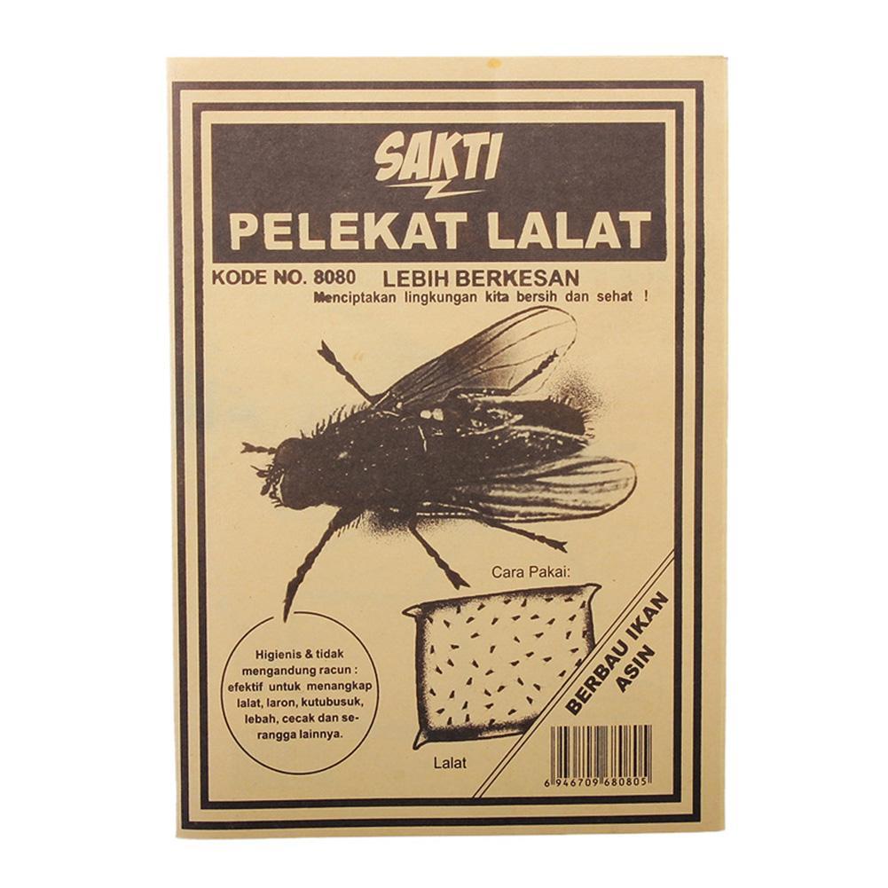 10pcs  Bug Fly Glue Trap Board Fly Killer Sticker Home Pest Control Housefly Flies Moths Lizard Drosophila Cockroach Reject