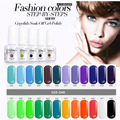 2017 Fashion UV Gel Nail Polish Soak Off Matte 15ml Gel Polish Gelpolish Manicure Decoration Vernis Semi Permanent Nail Gel