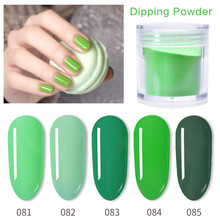 Sloomey Nail Dipping Art Dip Powder With Base Top Activator Brush French Glitter without Lamp Cure