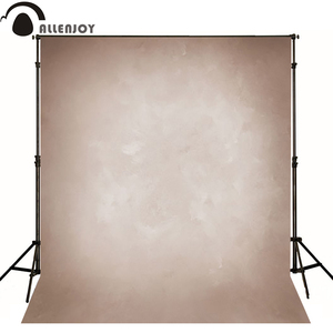 Image 2 - Allenjoy Vinyl cloth photography backdrop old master light brown grunge pure color background photo studio photobooth photophone