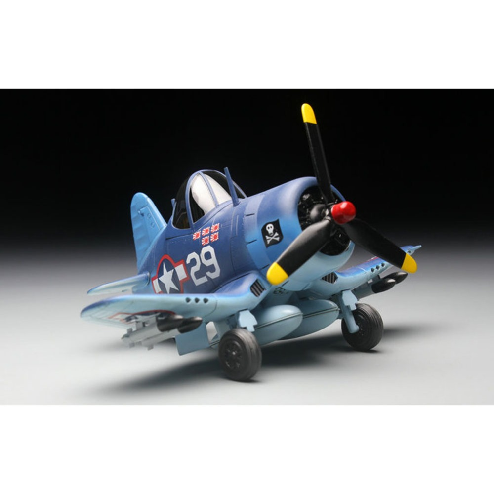 Alert Ohs Tiger Model 101 Q Versin F4u Corsair Fighter Wwii Us Navy Assembly Airforce Model Building Kits Oh