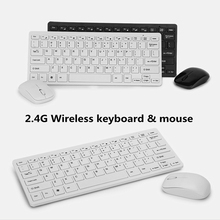 2.4G Extremely-Slim Mini Wi-fi Residence Workplace Keyboard and Mouse Combos Non Noise Press Keys Suitable With XP Home windows,IOS,Andriod