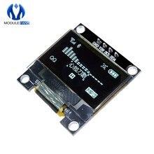 0.96 Cal I2C IIC Serial 128X64 128*64 biały OLED moduł wyświetlacza led kompatybilny z Arduino STM32 kontroler płyta sterownicza 3V 5v