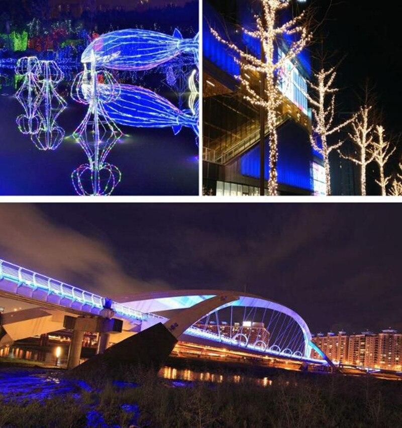 2835 bande LED smd lumière IP65 LED étanche bande flexible bande lumière 180 LED s/m décor à la maison lampe - 3